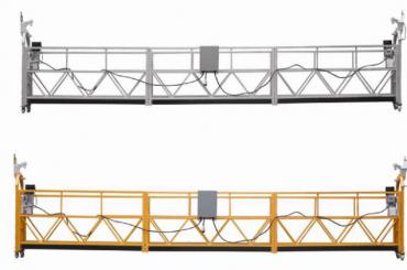 Трифазна въжена окачена платформа, горещо поцинкована, 7.5m zlp800a за боядисване на стени