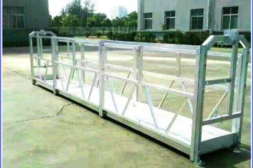 различен модел електрическа строителна платформа люлка платформа