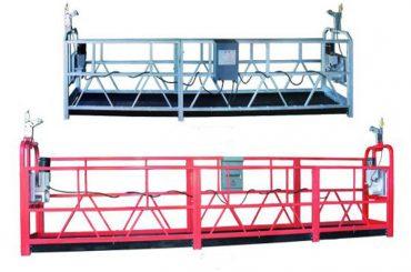 зп 630 въжена окачена платформа въздушна работа люлка скеле с пластмасов спрей боядисана